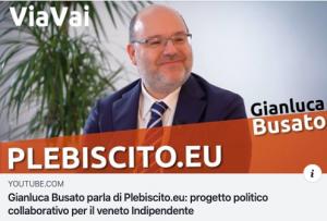 Gianluca Busato Plebiscito.eu Veneto indipendente